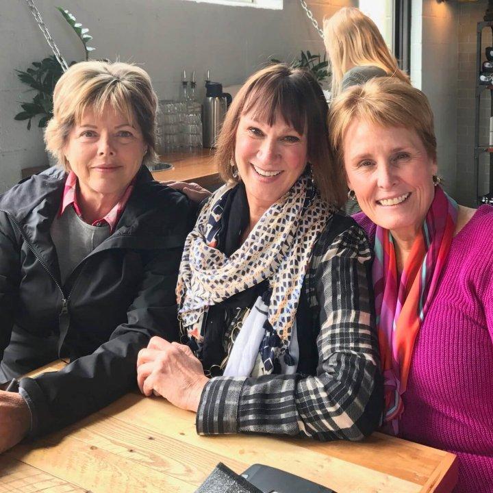 three women friends